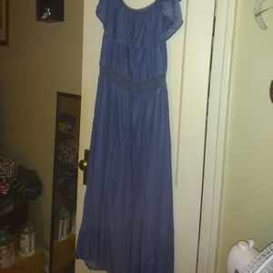 Lane Bryant light weight 22/24 Maxi Dress